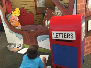 Writing letters to author, Dav Pilkey