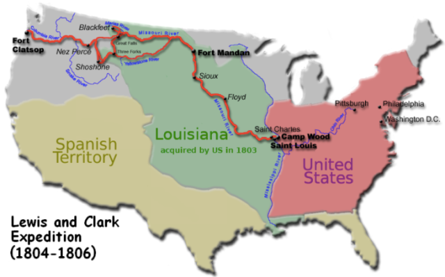 "Ask your child, ""What was the Louisiana Purchase? What was the the expedition like for Lewis and Clark and their crew?"""